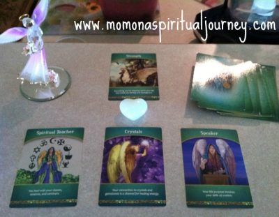 How to use Doreen Virtue's Life Purpose Oracle Cards | Using cards for a reading by Mom On A Spiritual Journey
