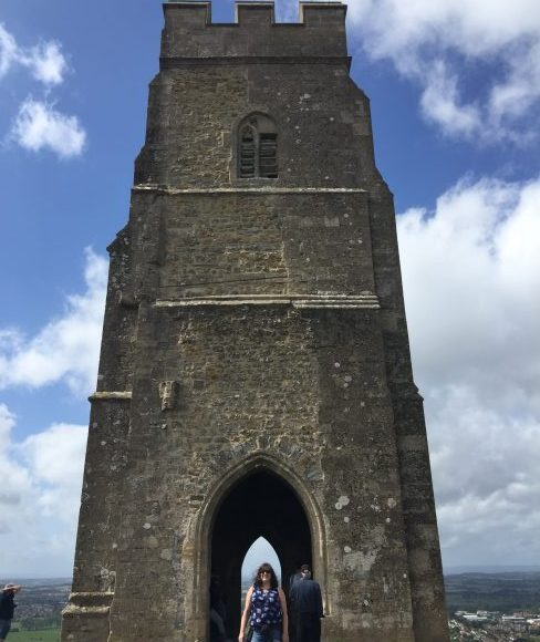 Entering the mystery of the Runes at Glastonbury Tor