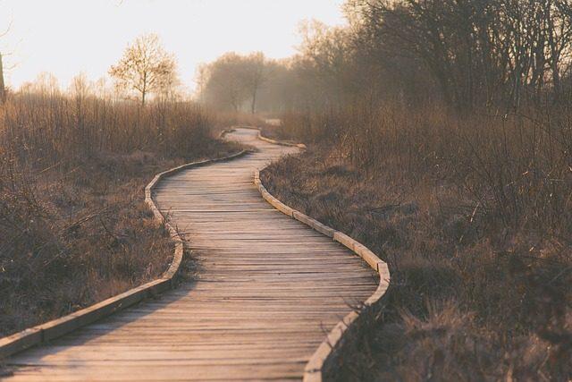 on a spiritual journey
